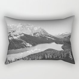 Landscape Photography Peyto Lake Rectangular Pillow
