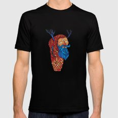 Everything is a state of mind SMALL Black Mens Fitted Tee