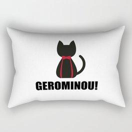 Geronimo + Cat = Gerominou Rectangular Pillow