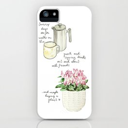 Sunny days are for iPhone Case