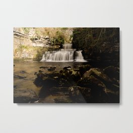 Cotter Force Metal Print