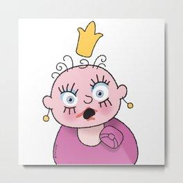 Little Princess 3 Metal Print