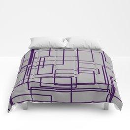 rectángulos superposiciones Comforters
