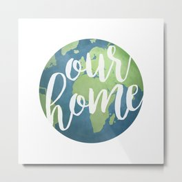 Our Home Metal Print