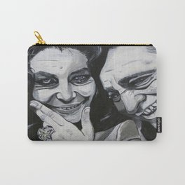 Elizabeth Taylor and Richard Burton Carry-All Pouch