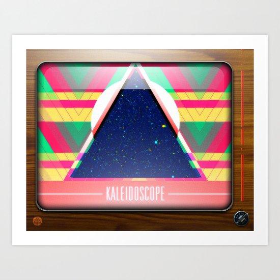 Kaleidoscope TV version C Art Print