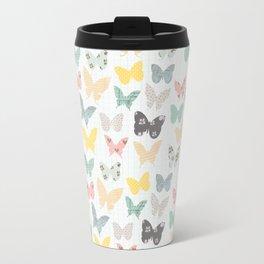 butterflies pattern Travel Mug