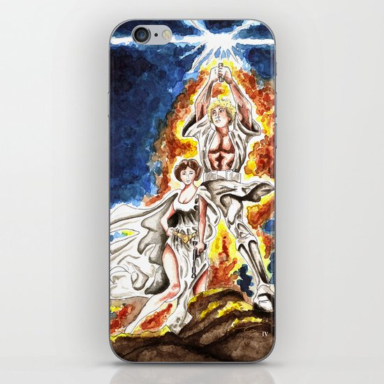 STAR WARS: A New Hope Watercolor iPhone Skin