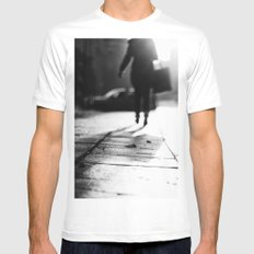 Light Shopping Mens Fitted Tee White SMALL