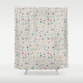 Pez Otomi by Ana Kane Shower Curtain