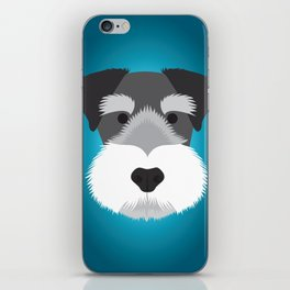Miniature Schnauzer  iPhone Skin