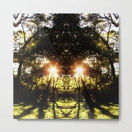DMT Ferntree Forest Metal Print