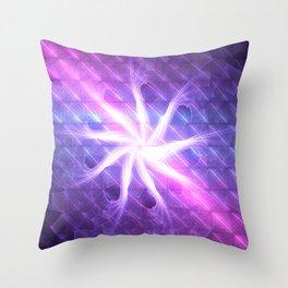 Flower of 9 Celestial Rains Throw Pillow
