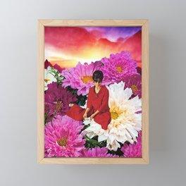 Melancholy song Framed Mini Art Print