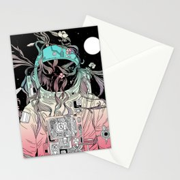 Life is Invading My Space Stationery Cards