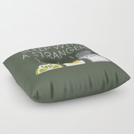 Sublimeinal Message Floor Pillow