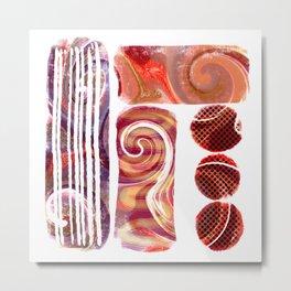"""""""Balancing Act""""   Contemporary Digital Abstract Metal Print"""
