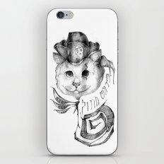 P1R4T3 C4T (Pirate Cat) iPhone & iPod Skin