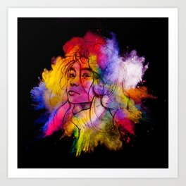 Pride - 2 Art Print