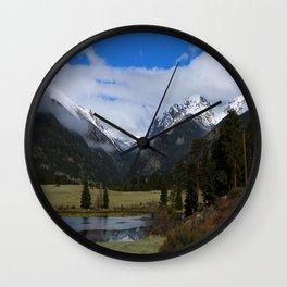 A Beautiful View Wall Clock