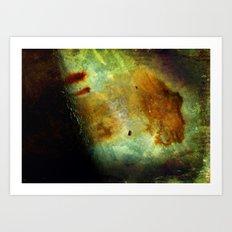 Fire Woman Art Print