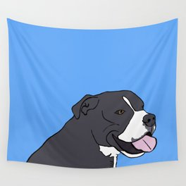 Cash The True Bluenose Pit Bull Wall Tapestry