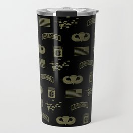 82nd Airborne Division Pattern (Green) Travel Mug