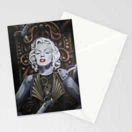 Cyborg Marilyn Stationery Cards