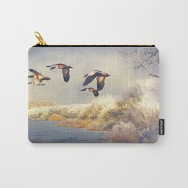 Shades of winter. Carry-All Pouch