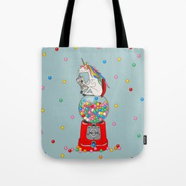 Unicorn Gumball Poop Tote Bag