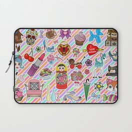 I Love Stickers Laptop Sleeve
