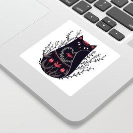 Russian kitty Sticker