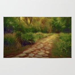 A Garden Path Rug