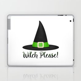 Witch Please! Laptop & iPad Skin