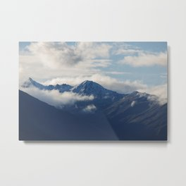 Spoke of Mt. Alta Metal Print