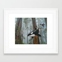 giants Framed Art Prints featuring Giants Among Giants by Jason Pierce