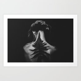 Dark Nature Art Print