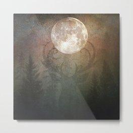 Buck Moon Metal Print