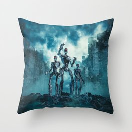 The Patrol Throw Pillow