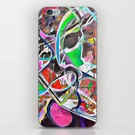 Colorful Abstract 2 iPhone Skin