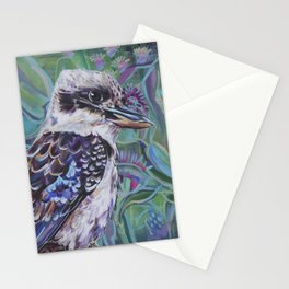 Kookaburra in the bush Stationery Cards