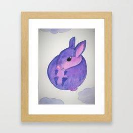 Bunny In The Sky Framed Art Print