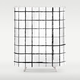 Chicken Scratch #619 Shower Curtain
