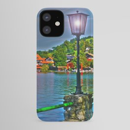 Lantern at the Lake Schliersee iPhone Case