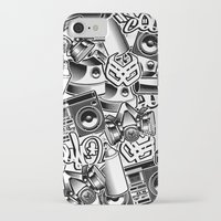 tool iPhone & iPod Cases featuring Tool by squadcore