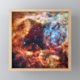 Grand Star-forming Region Framed Mini Art Print