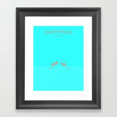 Crazy old Mule / Chicago Mule Framed Art Print
