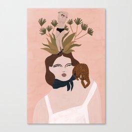 The Little Voice's Dance Canvas Print
