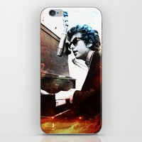dylan iPhone & iPod Skins featuring Bob Dylan by Maioriz Home