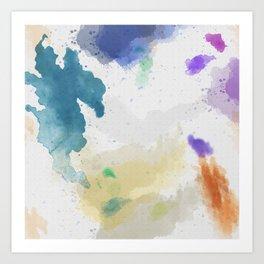 Watercolor Canvas Art Print